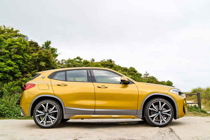 BMW X2 side view