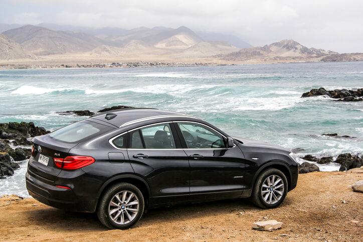 BMW X4 side view