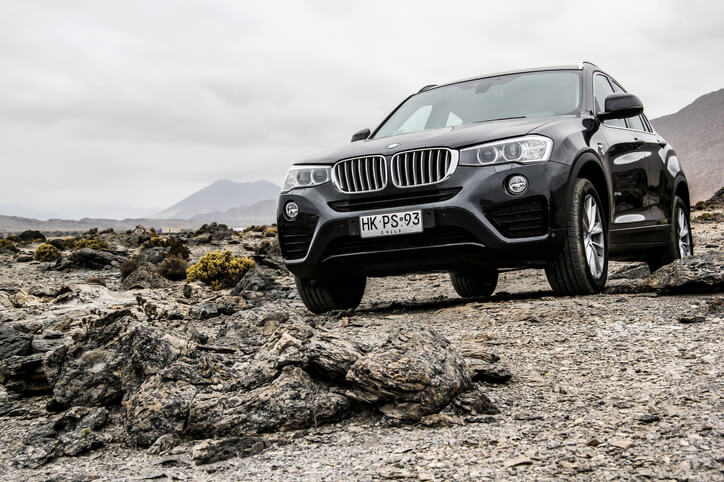 BMW X4 front view