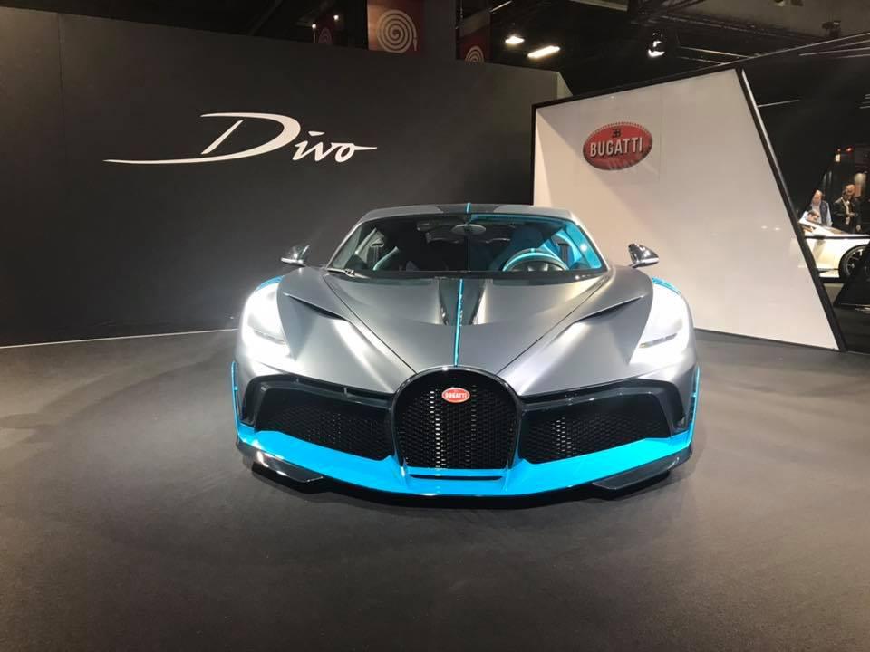 Bugatti Divo front