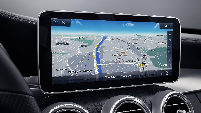 Mercedes C-Class infotainment