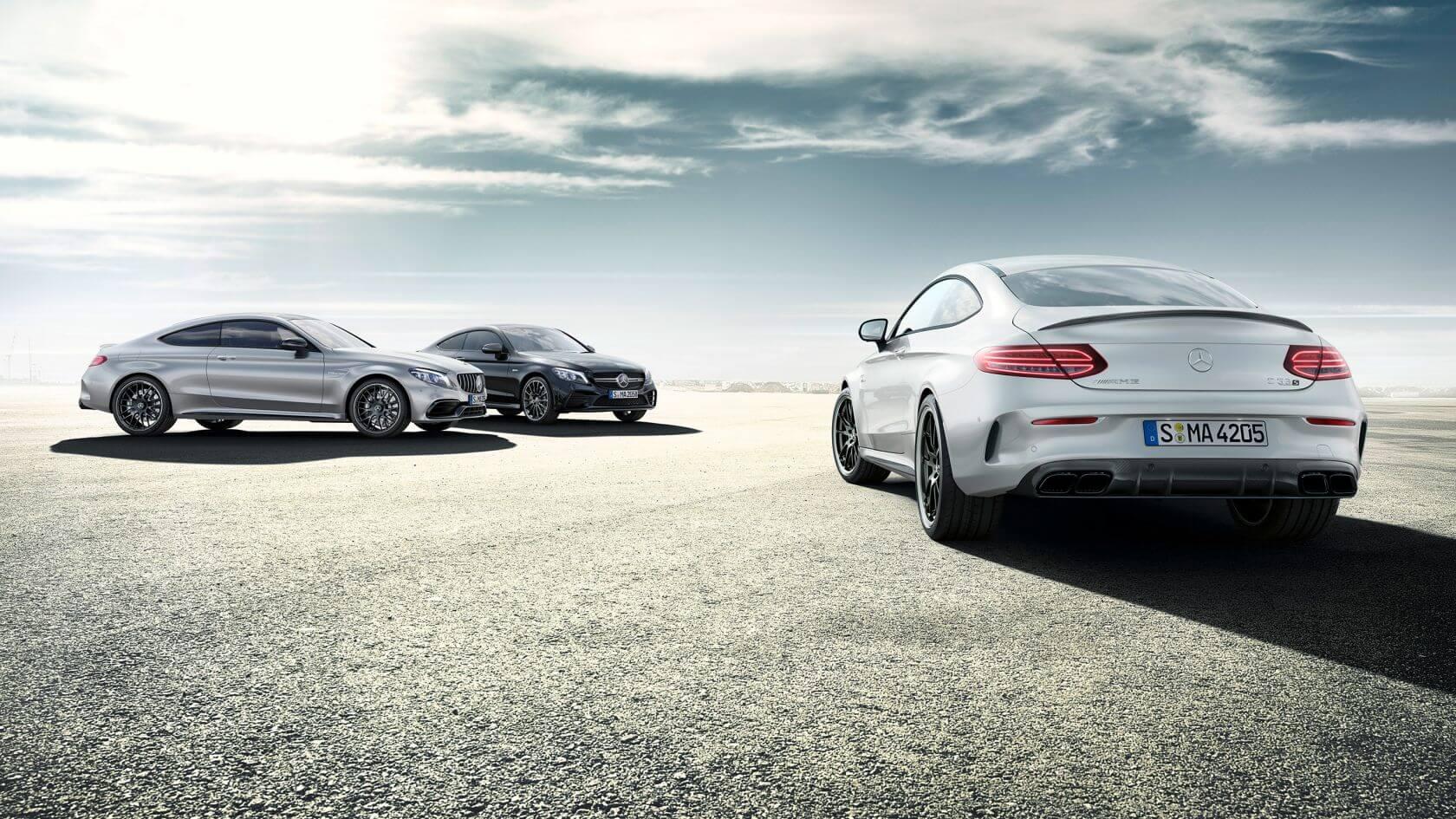 Mercedes C-Class cars