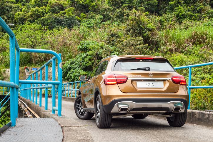 Mercedes-Benz GLA back