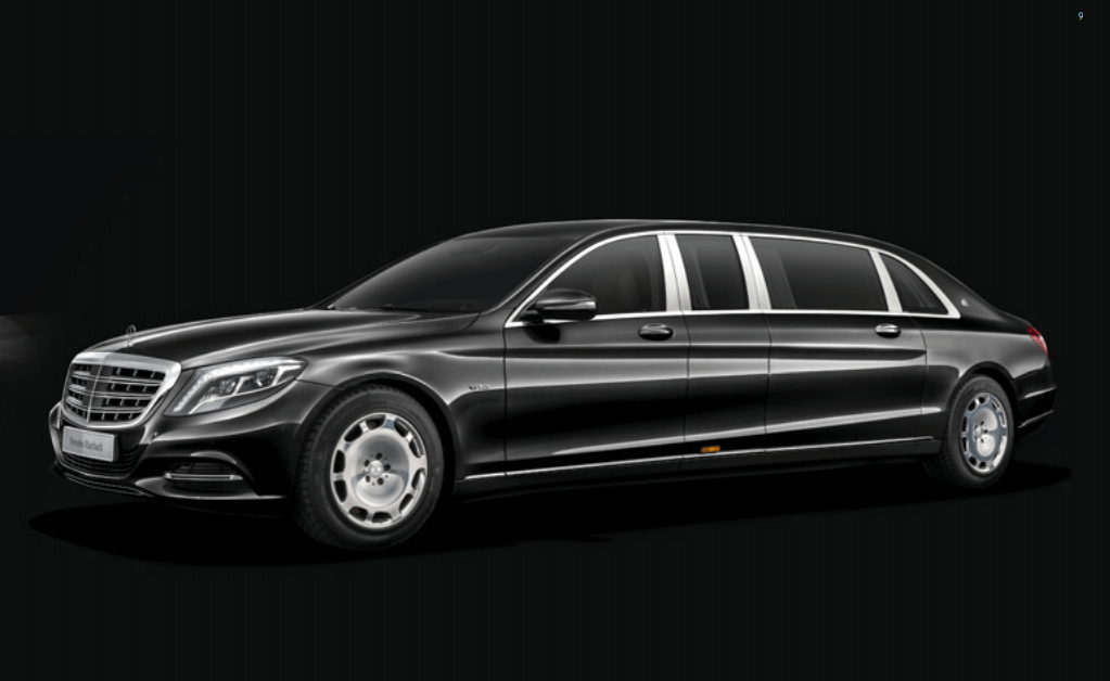 Mercedes S600 Pullman Maybach Guard