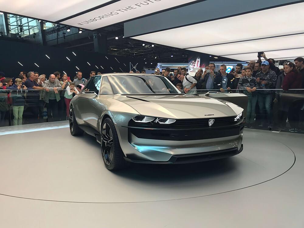 Peugeot E-Legend Paris Motor Show 2018