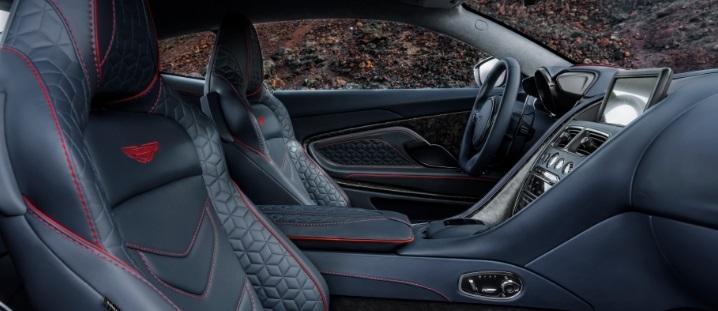 Aston Martin Superleggera interior